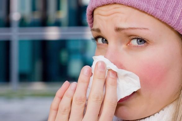 prehlada i astma
